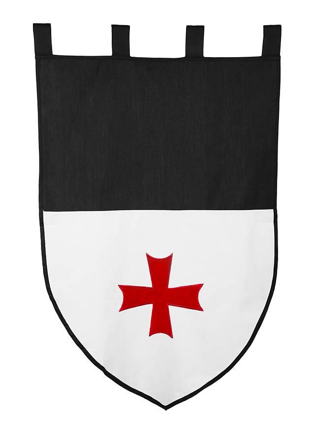 Flagge der Tempelritter