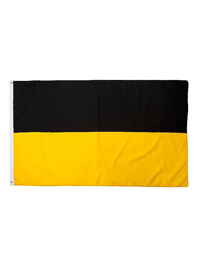 Flagge schwarz-gelb