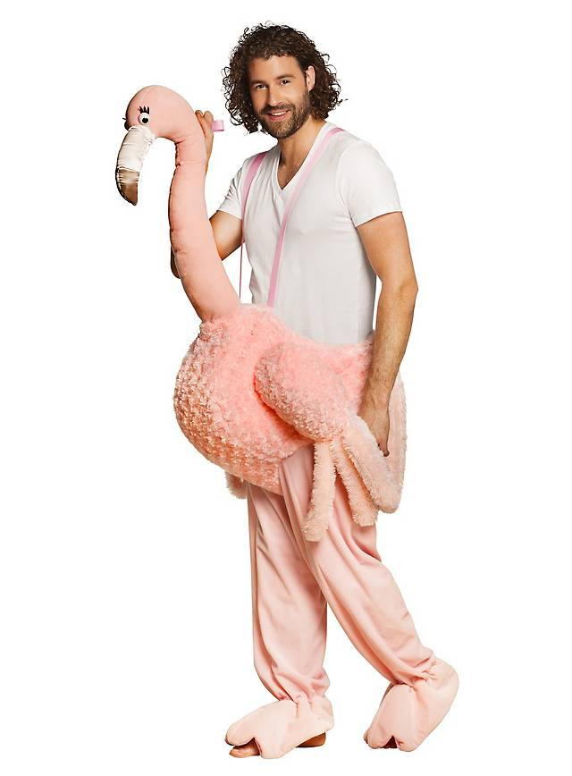 Flamingo Reiterkostüm