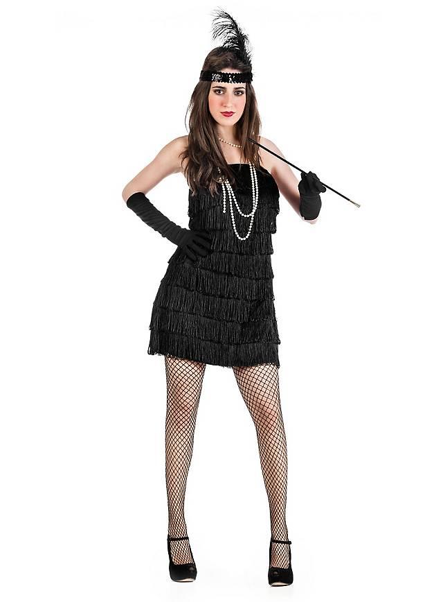 Flapper black Costume