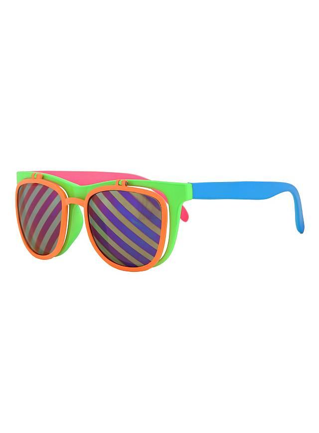 Flip Up Brille neon