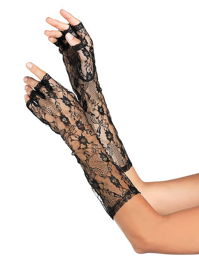 Floral Lace Gloves
