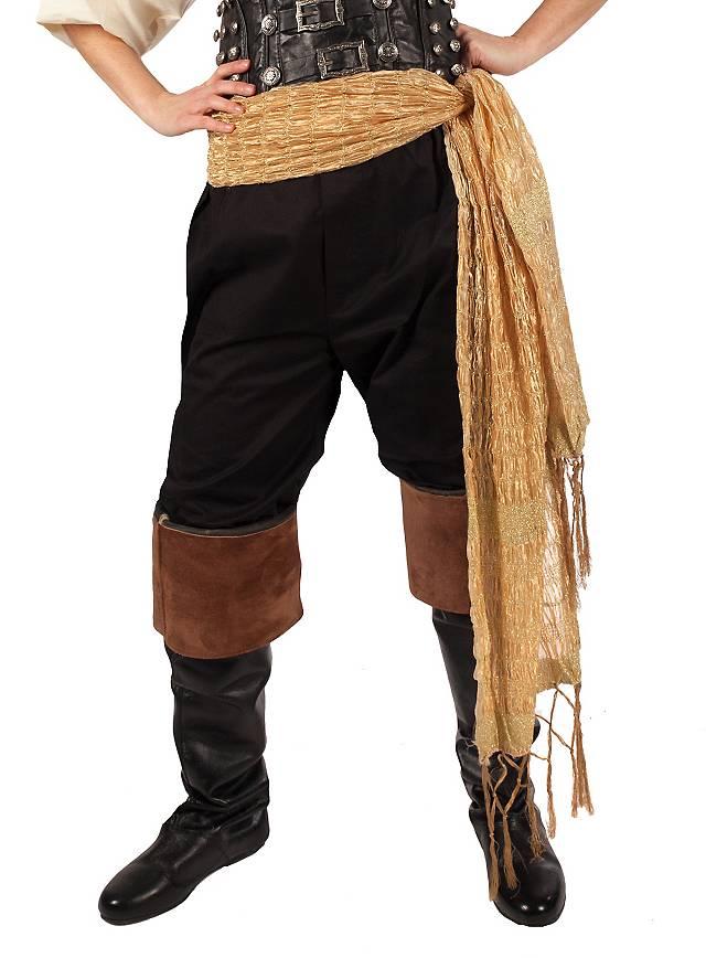 Foulard de pirate doré