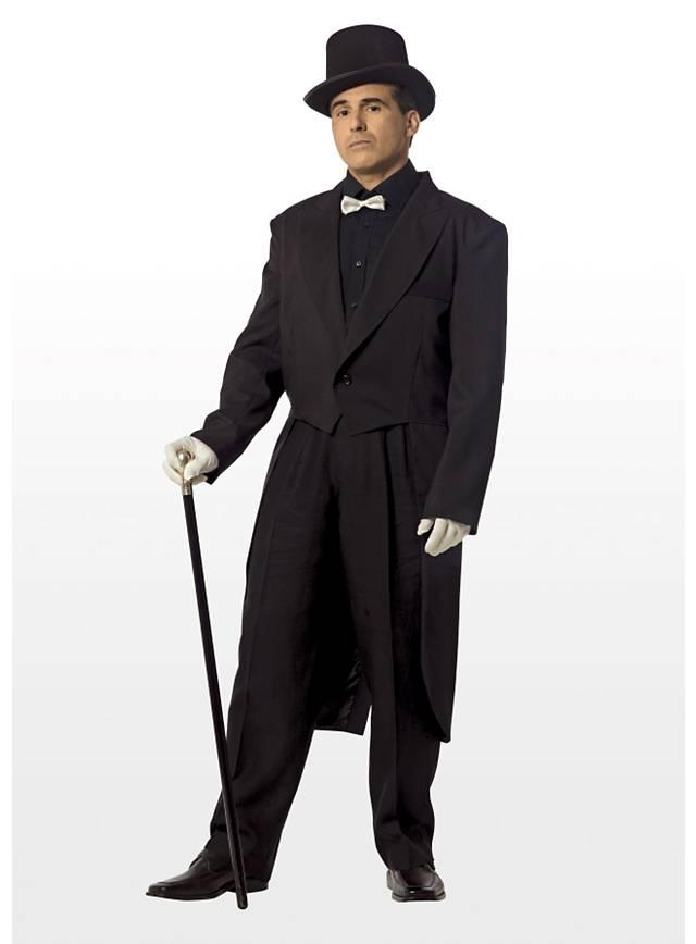 Frack schwarz Kostüm