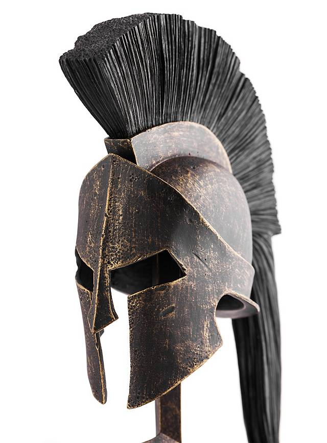 Frank Miller S 300 Leonidas Helmet And Sword With Stand