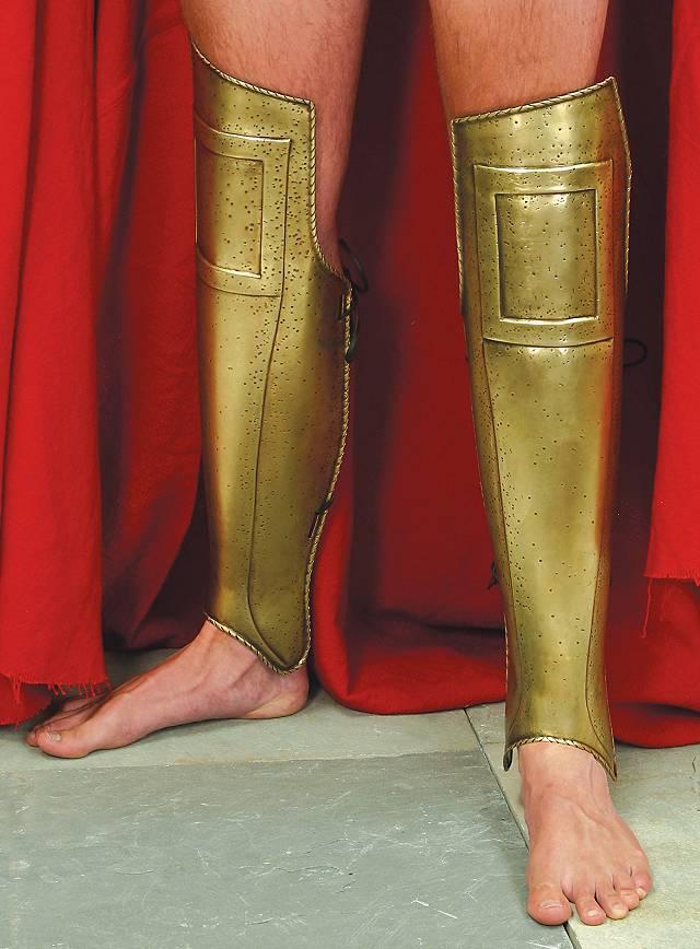 Frank Miller's 300 Spartan Leg Guards