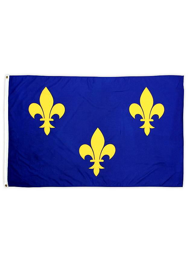 Frankreich Fleur De Lis Flagge