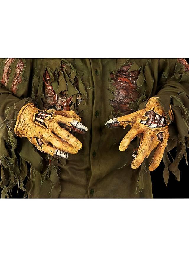 Freitag der 13. Jason Hände aus Latex