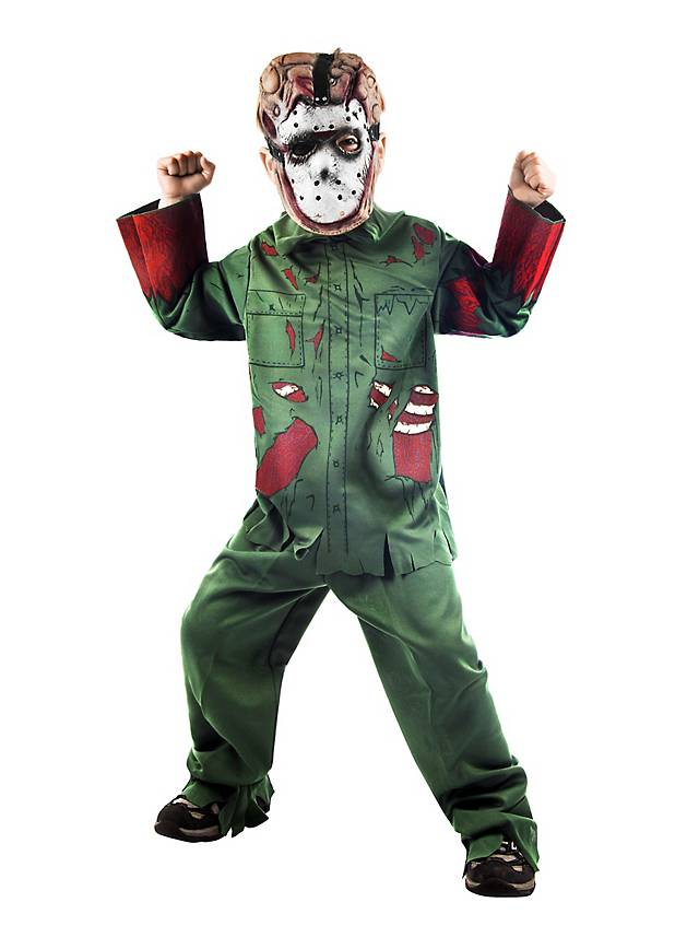 Friday 13th Jason Kids Costume - maskworld.com