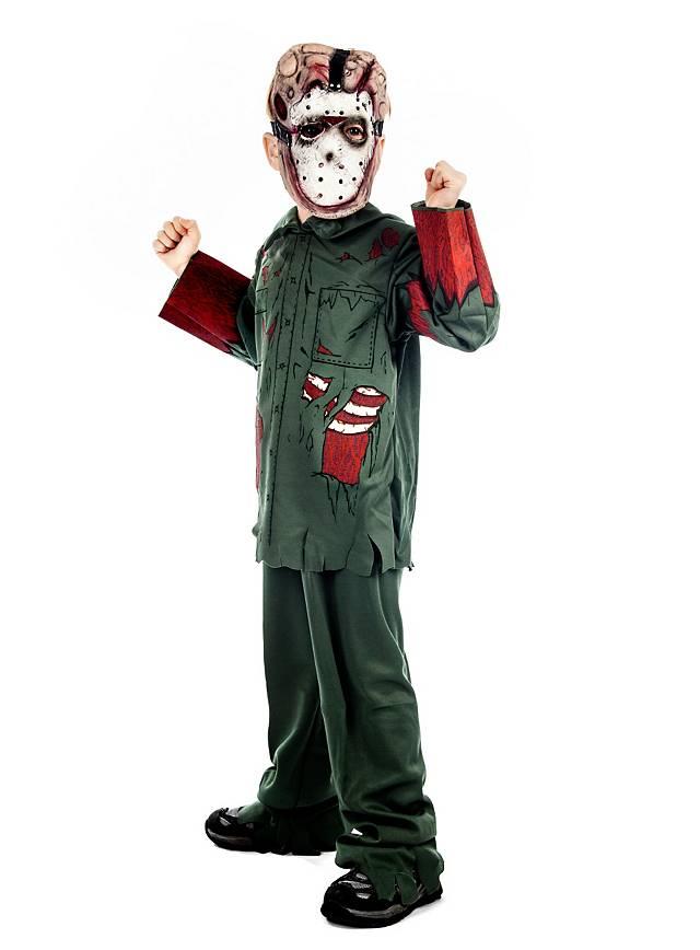 Friday 13th Jason Kids Costume