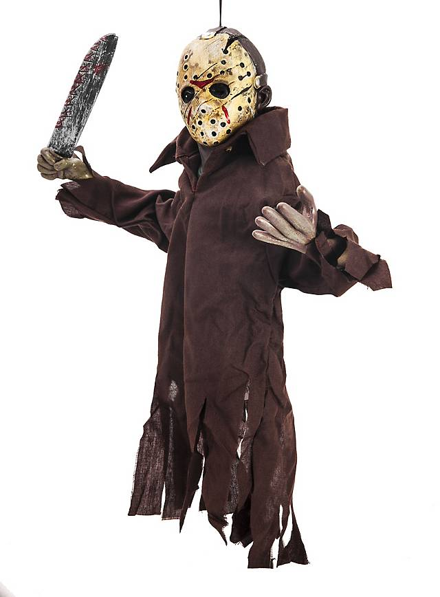 Halloween Costume Jason Friday 13th.Friday The 13th Jason Hanging Decoration