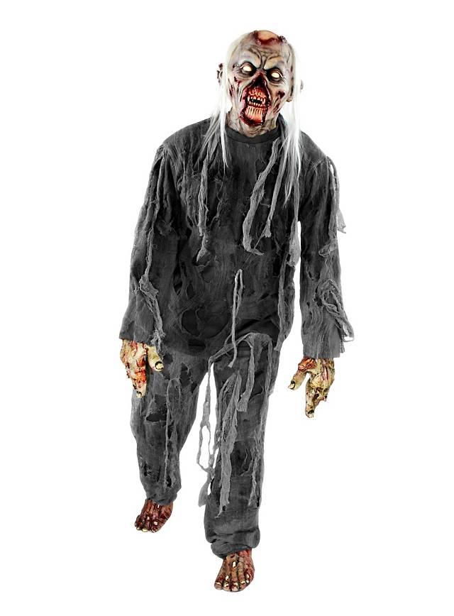 Friedhofszombie Kostüm mit Maske