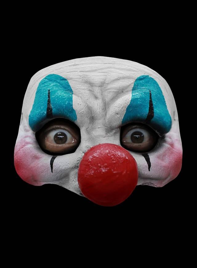 Fröhlicher Clown Augenmaske