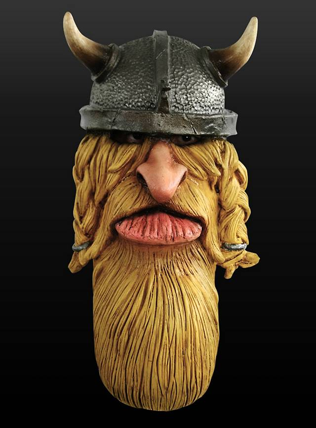 Funny Mask Viking Made Of Latex Maskworldcom