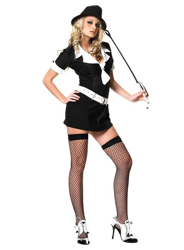 Gangster Lady Kostüm