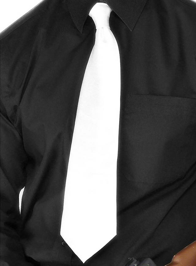 Gangster Tie for Your Black and White Party