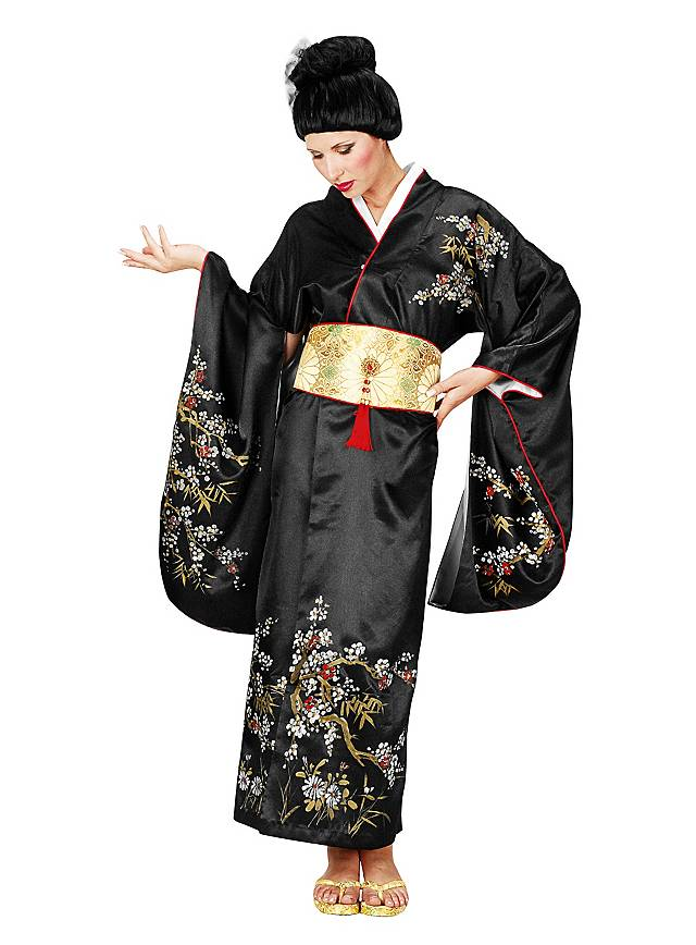 Geisha Black Costume Maskworld Com