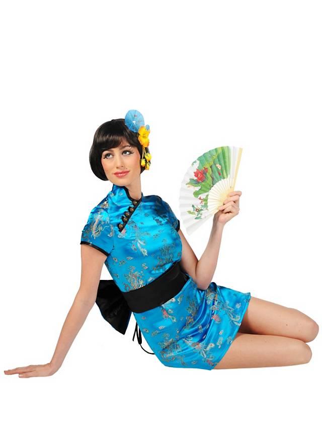 Geisha blue Costume