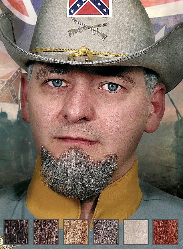 Général Bouc professionnel en poils véritables