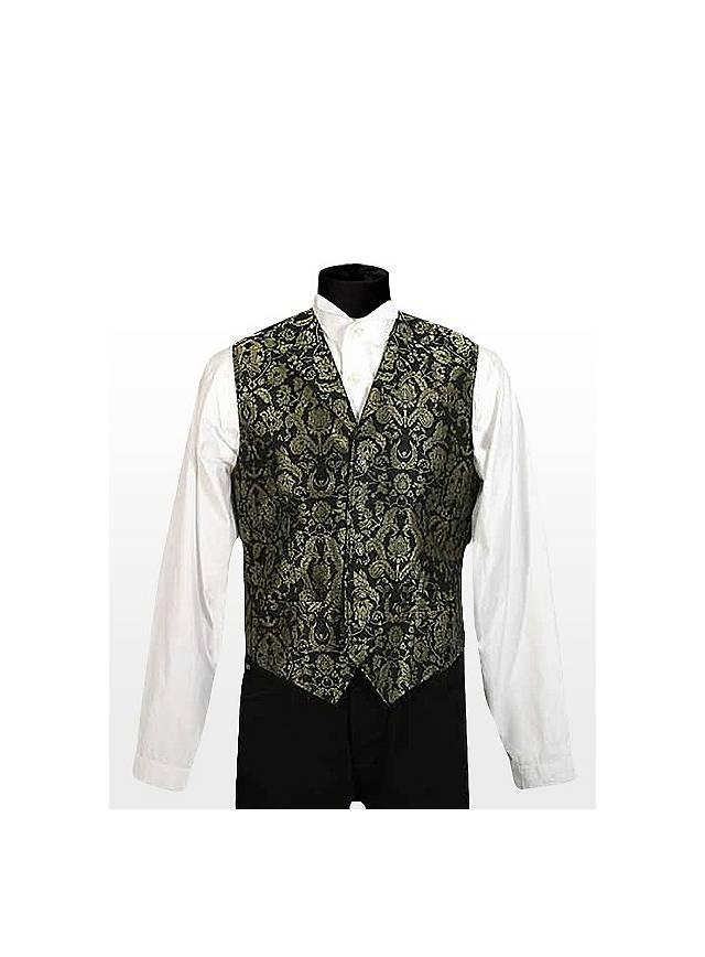 Gentleman Vest black-gold