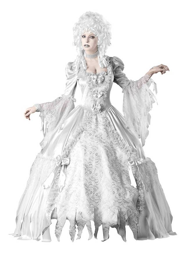 Ghost Countess Costume for Your Black and White Party