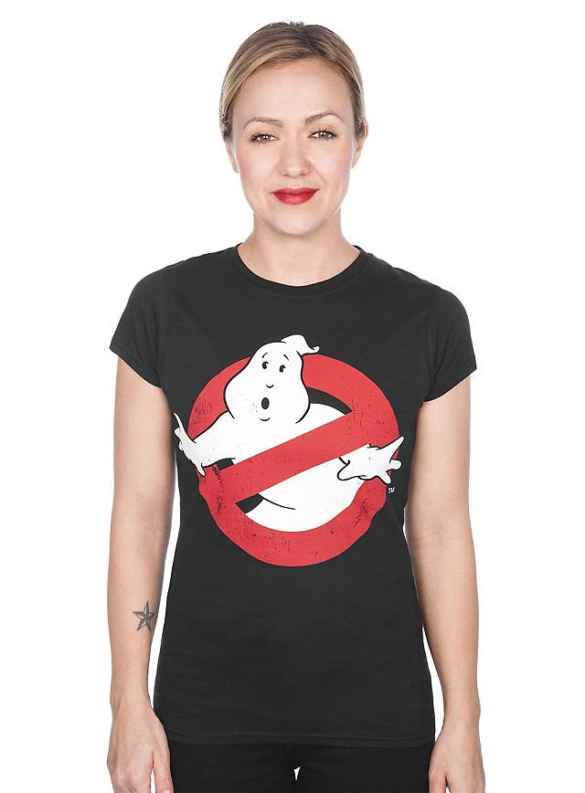 Ghostbusters Logo Girlie Shirt