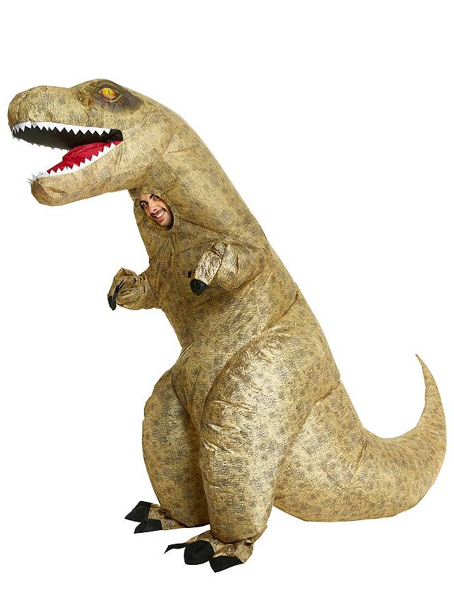 Giant dinosaur inflatable costume
