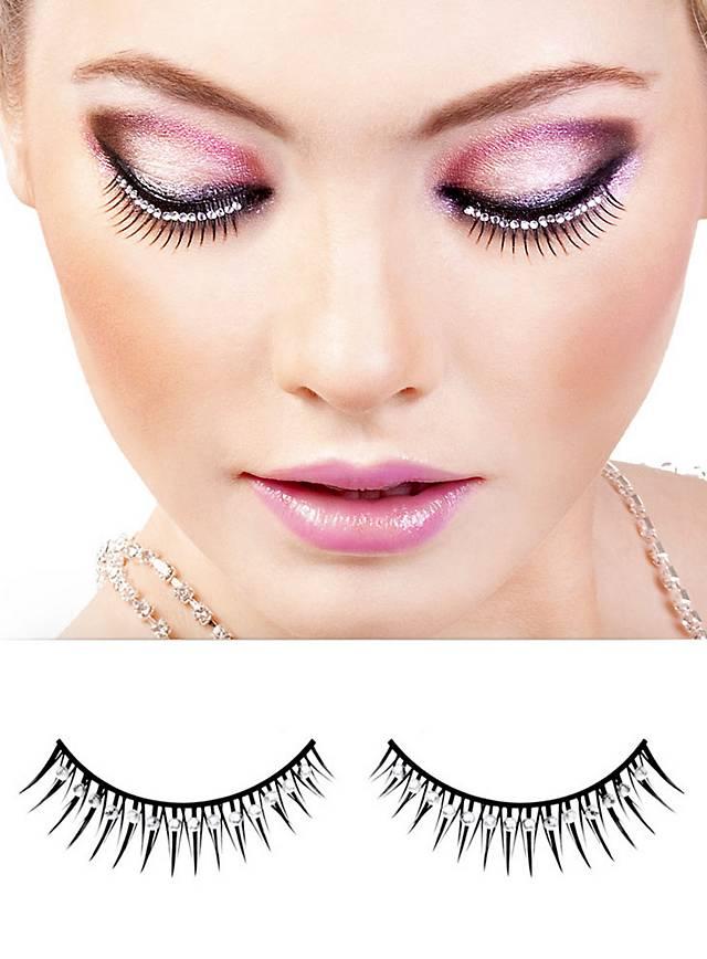 Glitter False Eyelashes