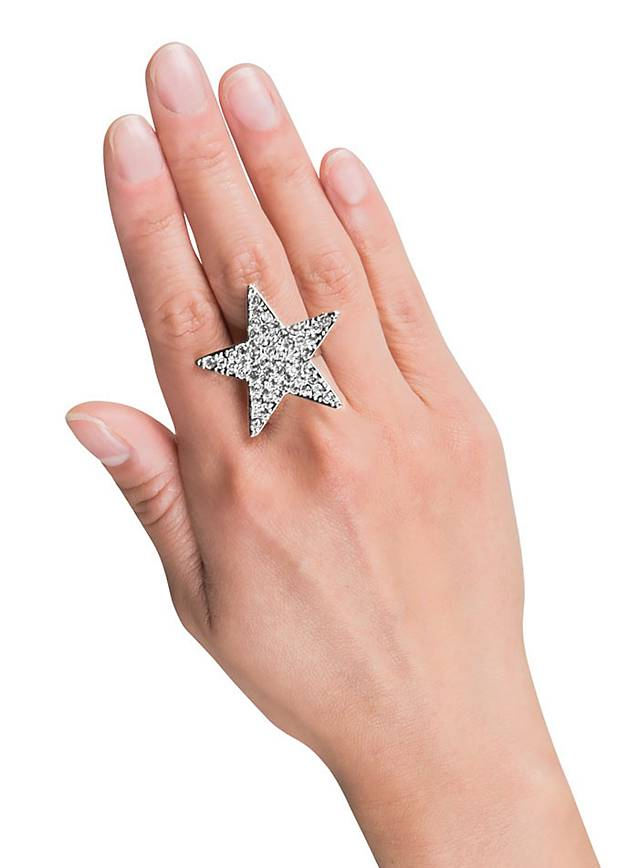 Glitter Star Ring