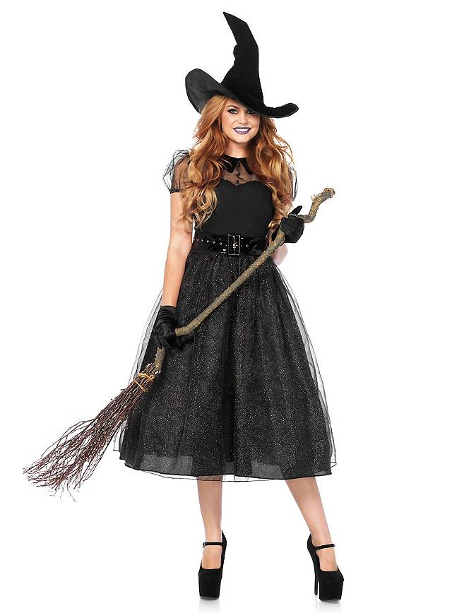 Glitter witch costume