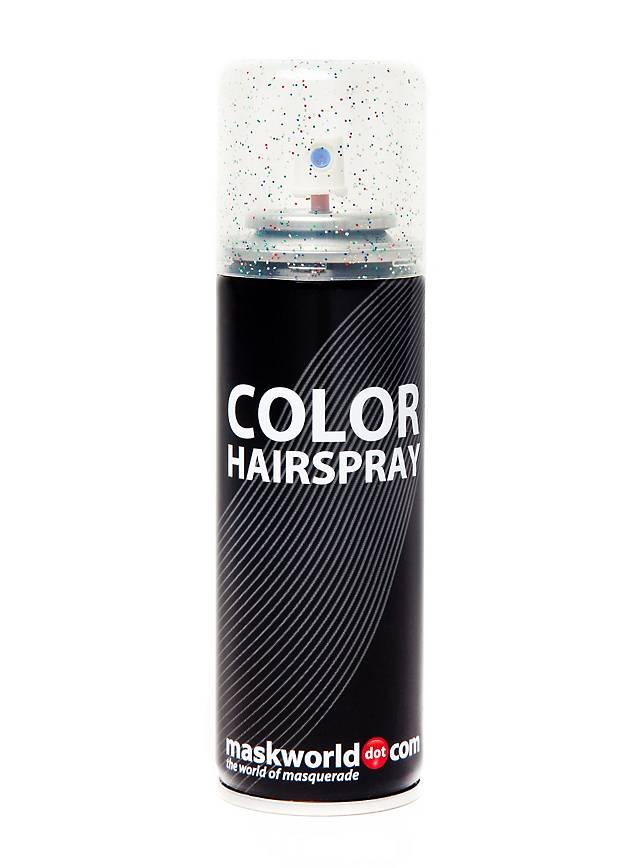 Glitterhaarspray Mehrfarbig