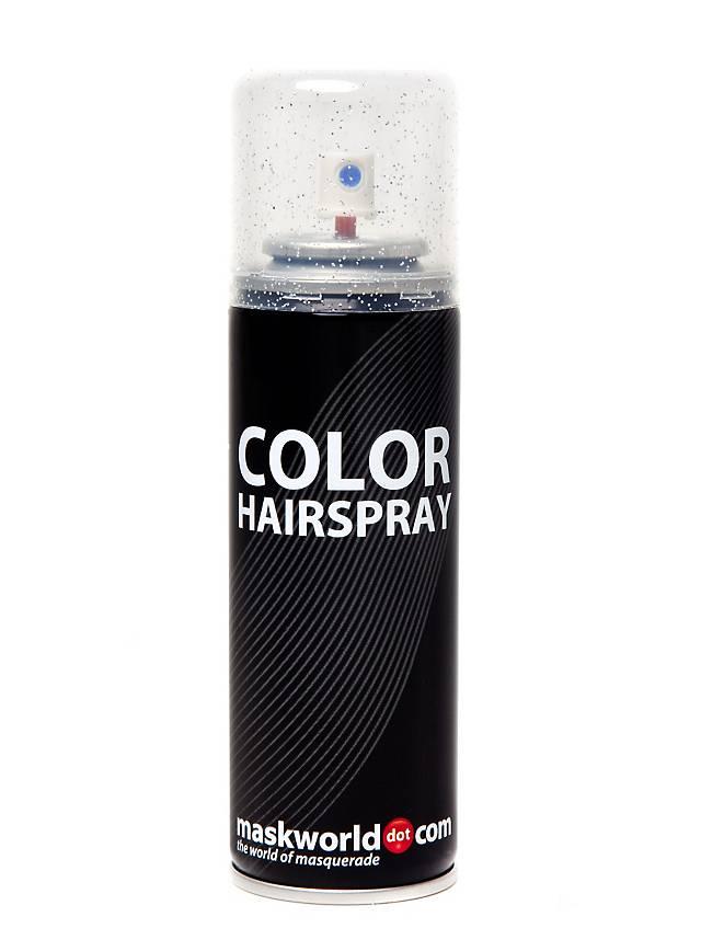 Glitterhaarspray Silber