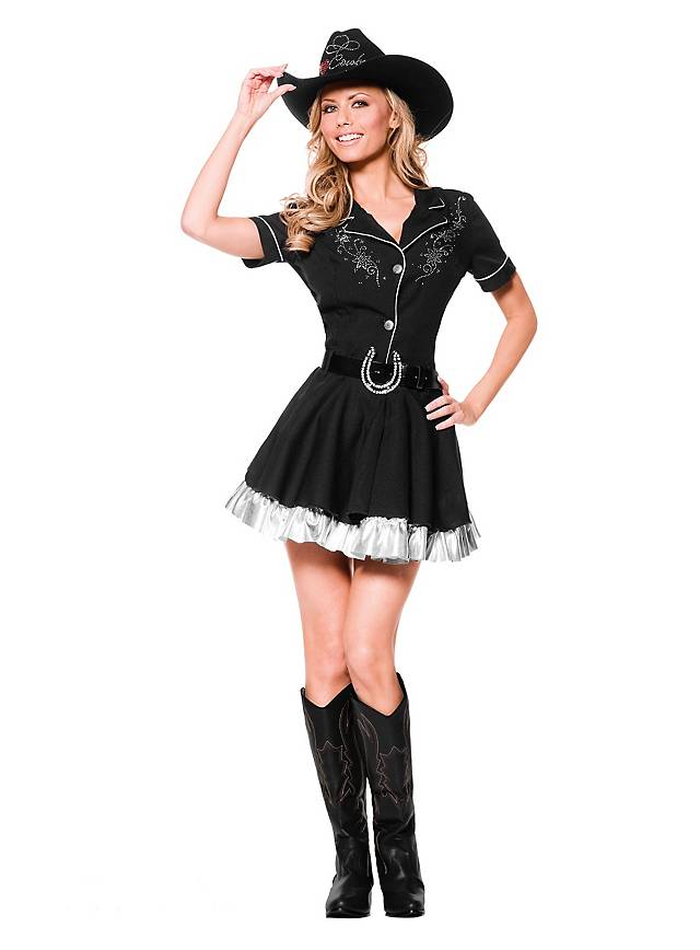 Glitzer Cowgirl Kostüm