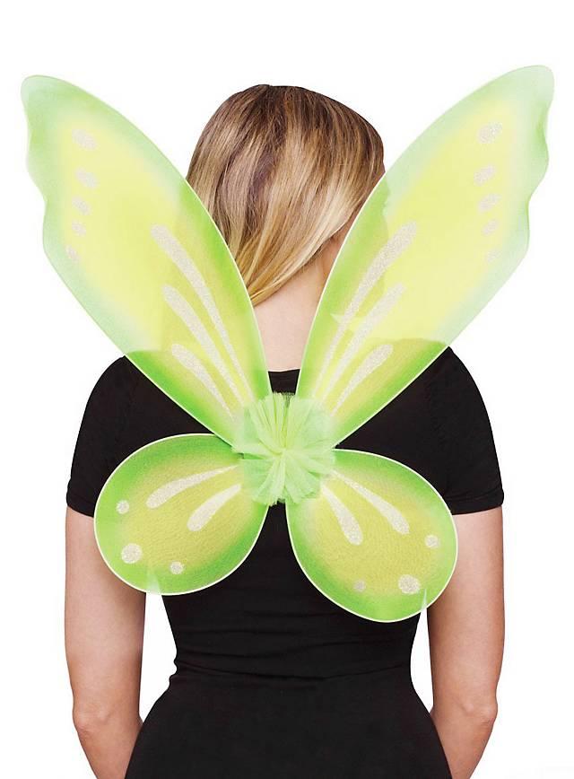 Glitzerflügel grün