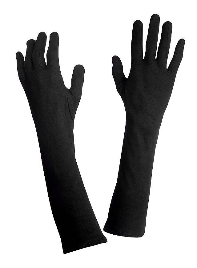 Gloves long black
