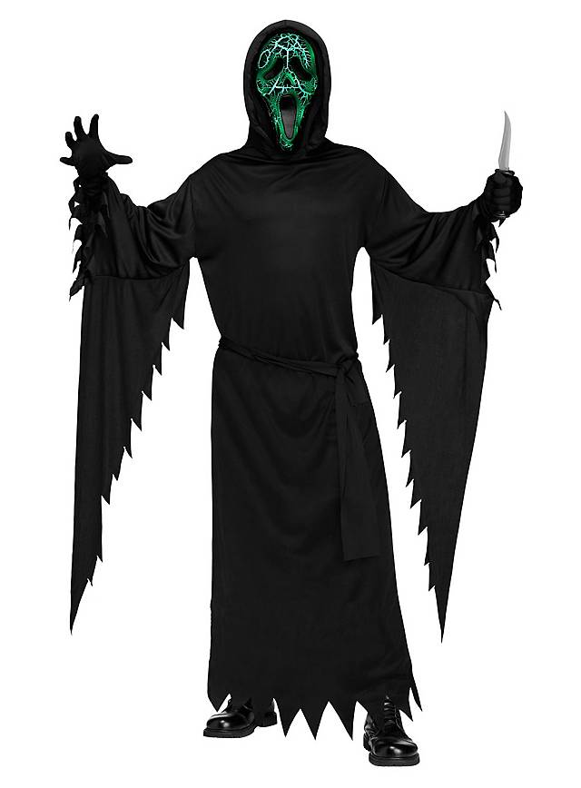 Glowing Ghostface Scream Kostüm Maskworldcom