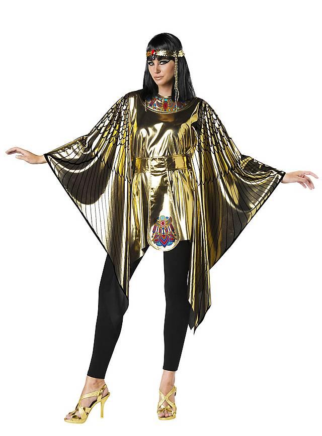 Göttin vom Nil Poncho Kostüm