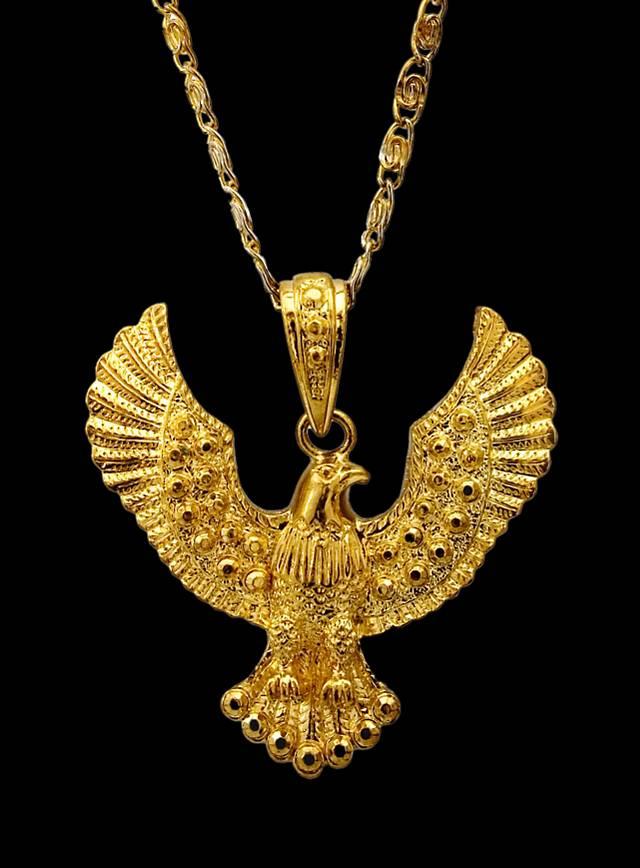 Golden Eagle Medallion
