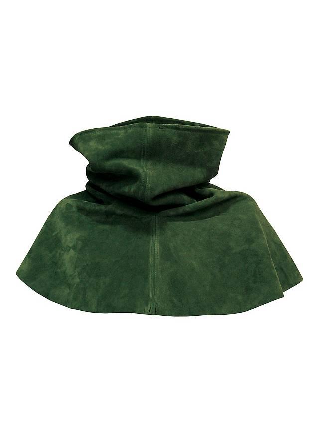 Gorgerin en daim vert