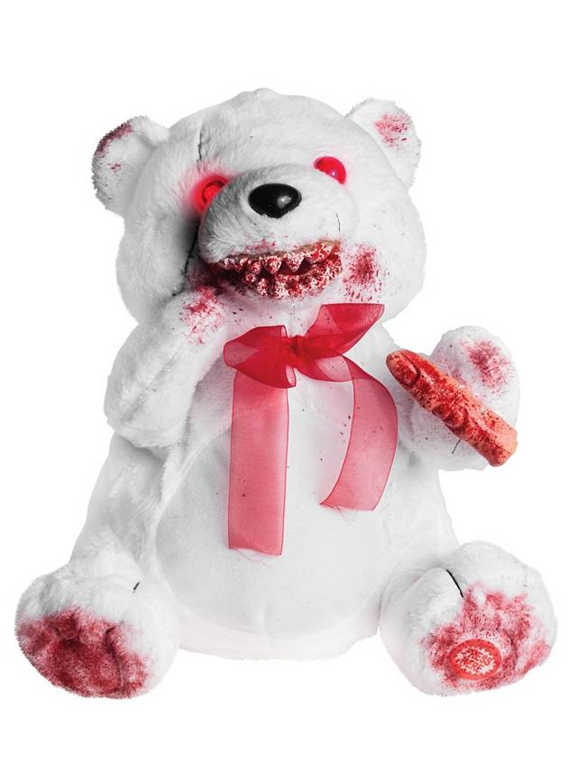 Gory Teddy Bear white