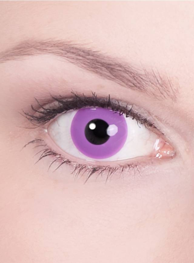 Violet Contact Lenses  Gothic Effect
