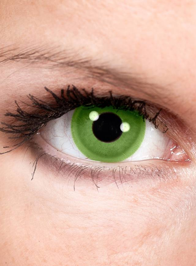 Green Contact Lenses - Green Goblin Special Effect