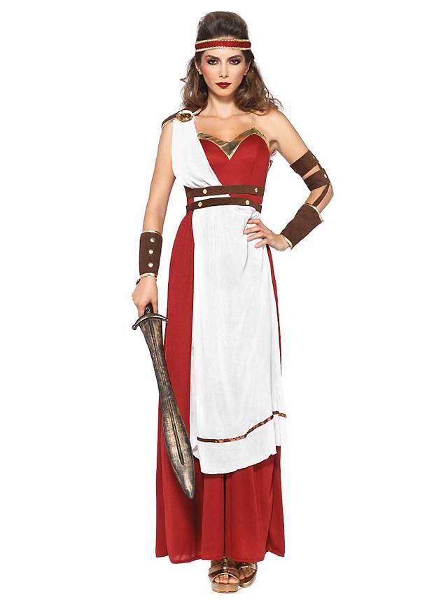 Griechische Göttin Kostüm Spartanerin ▻ Jetzt kaufen - maskworld.com