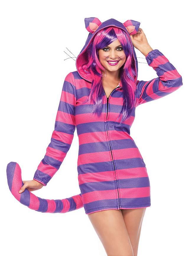 Grinsekatze Hoodie Dress