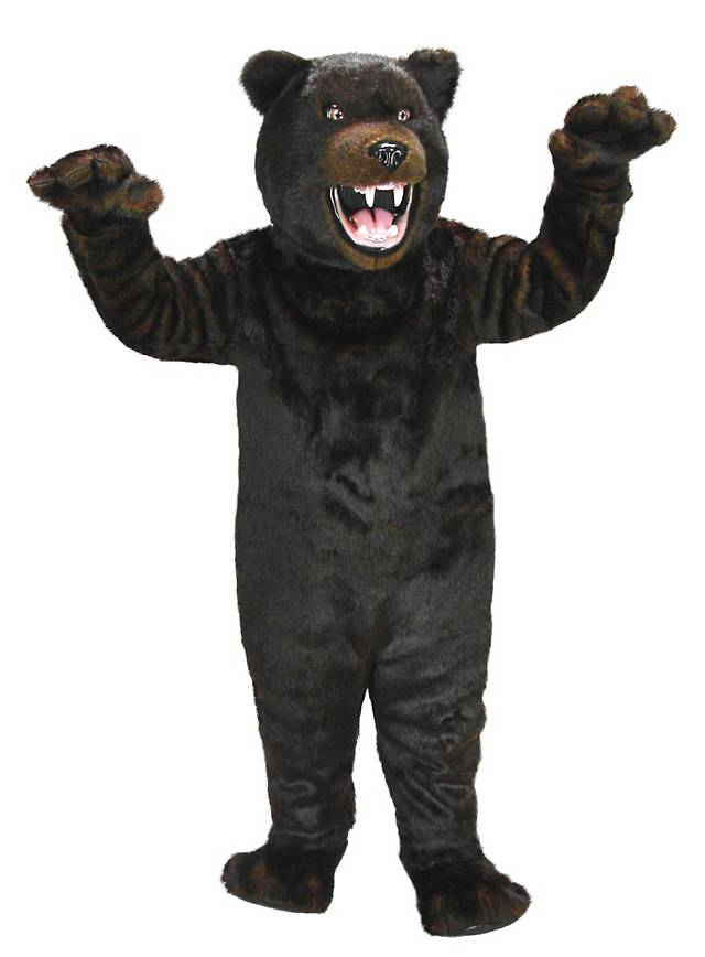 Grizzlybär Maskottchen