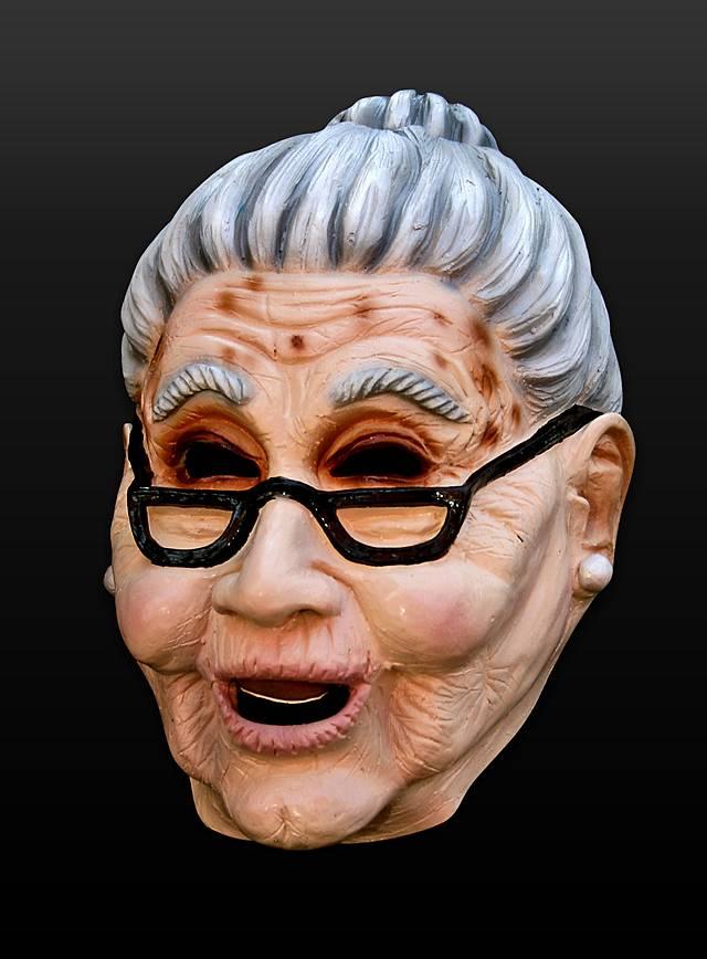 Großmutter Maske