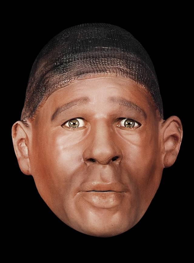 Hafenarbeiter Maske aus Schaumlatex