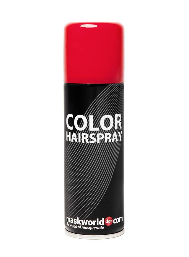 Coloring for Kids colored hairspray for kids : Hair Spray Red - maskworld.com