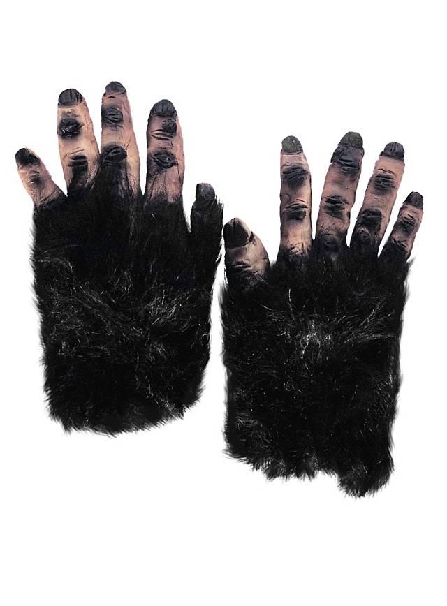 Hairy Monster Hands black