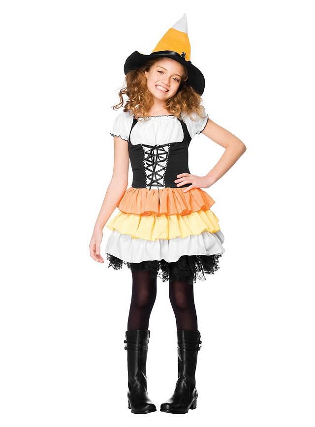 Halloween Hexe Kinderkostüm